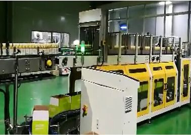 China PLC Omslag rond Plastic Flessen Verpakkende Machine met LCD Touch screen leverancier